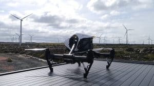 aerial drone for survey hire Glasgow