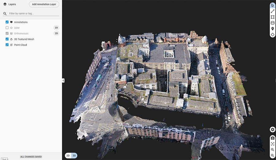 3d drone modelling