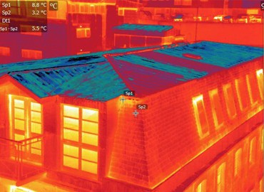 Thermal Imaging historic building