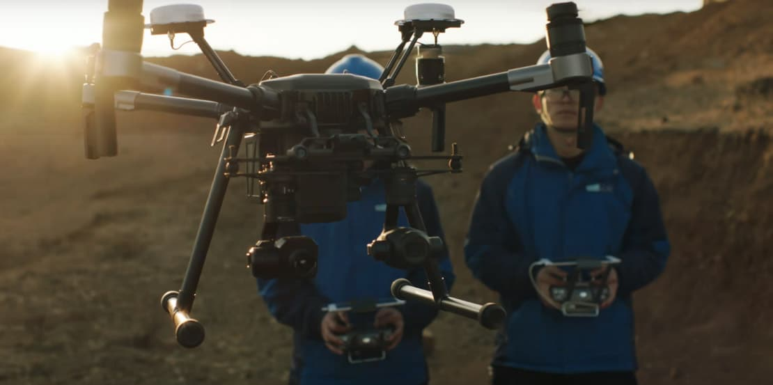 aerial drone hire in Glasgow