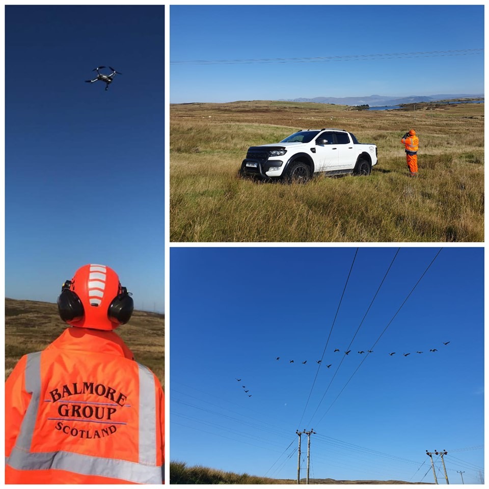 drone inspection of powerlines