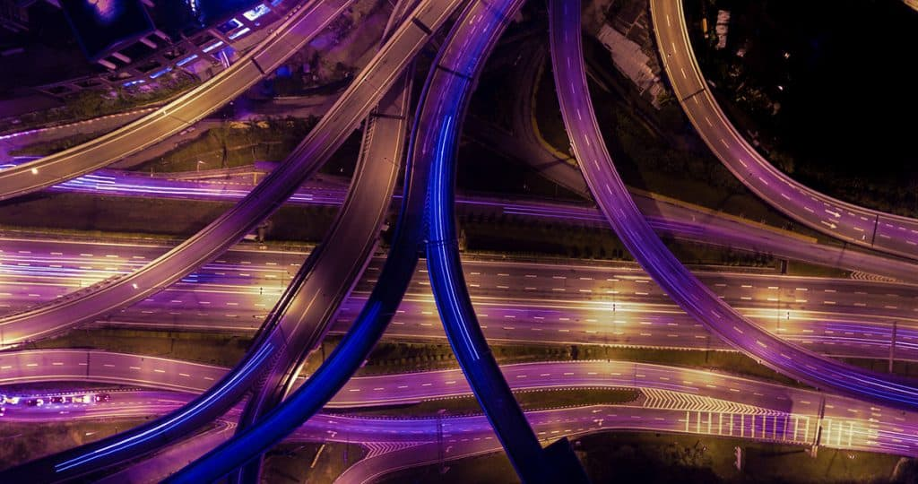 motorway bridge inspection with drone