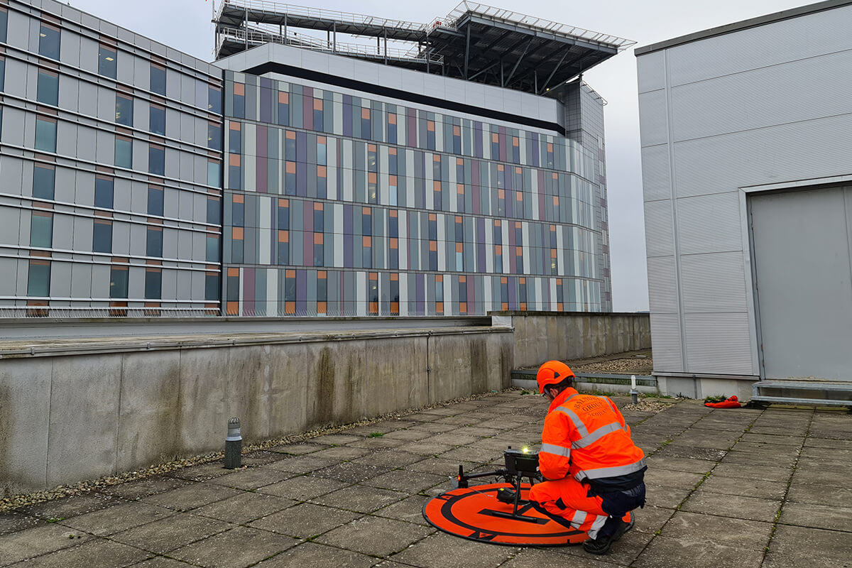 Drone Aerial Surveys for visual inspection