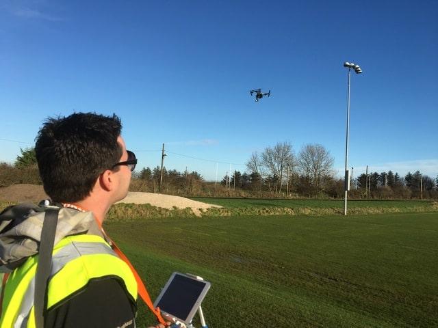 Portable aerial drone Glasgow