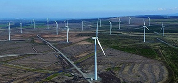 wind farm drone inspection