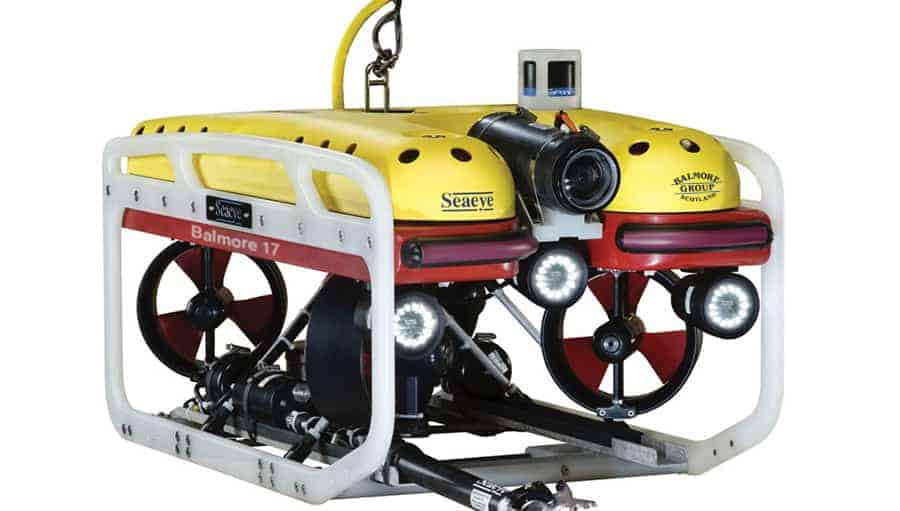 underwater drone inspection for oil and gas